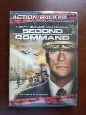 Jean-Claude Van Damme in SECOND in COMMAND (2006) LENTICULAR FRONT SLIPCOVER