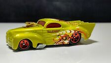 HOT WHEELS 1941 WILLYS COUPE #114 Crazed Clowns II Diecast Red Rims Green