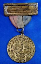 1946 VFW 26th Ohio Encampment Cleveland Sesquicentennial Medal Ribbon Whitehead