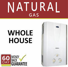 Tankless Hot Water Heater Natural Gas 3.1 GPM Marey On-Demand Whole House REF
