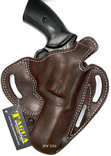 ANATOLIA Combat Master Colt 1911 Kimber 3 inch Brown Leather Right Belt Holster