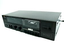 Jvc Kd-V100Nj Stereo Black Single Cassette Deck Tested