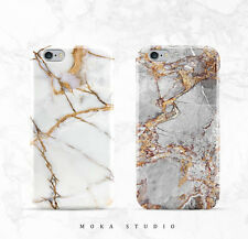 Trendy Cool Granite Marble Stone Effect Soft Case Cover For iPhone 7 7Plus 6 6s