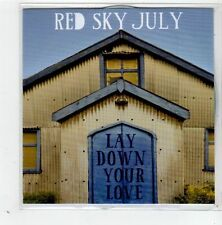(GD597) Red Sky July, Lay Down Your Love - 2014 DJ CD