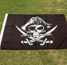 HUGE 3x5 Feet Skull and Cross Crossbones Sabres Swords Jolly Roger Pirate Flags