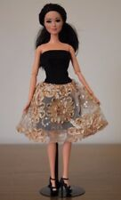 Clothes for Barbie Doll. Dress and Shoes for Dolls.