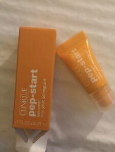 CLINIQUE Pep-Start Eye Cream 3ml NIB