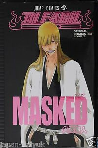 """JAPAN Bleach Official Character Book 2 """"Masked"""""""