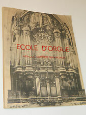 RAFFY Louis Ecole d'Orgue Méthode Harmonium organ ORGEL organo SHEET MUSIC piano