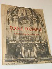 RAFFY Louis Ecole d'Orgue Méthode Harmonium organ ORGEL organo SHEET MUSIC piano