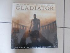 Gladiator - Soundtrack - Hans Zimmer Lisa Gerrard (NEW 2 VINYL LP) sealed