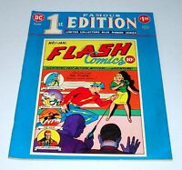 "Famous 1st Edition F-8 Flash Comics #1 TREASURY-SIZE 10"" x 13"" NM+ 9.6"