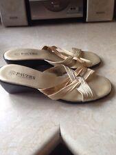 Pavers Ladies Sandals Size 8 Vgc