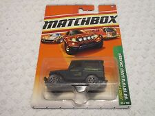 Matchbox Jungle Explorers '68 Toyota Land Cruiser Black Anaconda #95/100