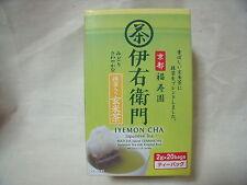 IYEMON CHA  Japanese Tea  Matcha blend genmaicha 2gx20bags from Japan in kyoto