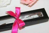 Personalized Pen, Personalized Gift, Made with Swarovski Gems with Gift Box