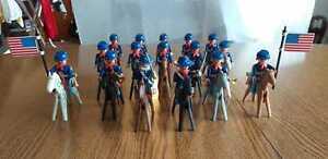 Playmobil   Western Nordstaaten Kavallerie mit Pferde