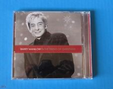 IN THE SWING OF CHRISTMAS BY BARRY MANILOW (CD, 2007, HALLMARK) FAST-FREE SHIP