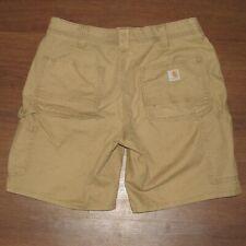 Carhartt 102094 Tan Original Fit Cargo Short Women's 8 (X2-8)