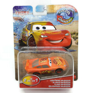 Disney Pixar Cars Color Changers 2 in 1 Lightning McQueen 2019 Free Shipping