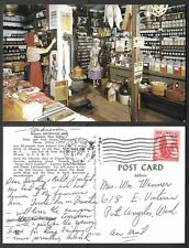 1962 Postcard - Absecon, New Jersey - Smithville Inn General Store