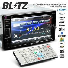 "Blitz 6.2"" Touch Screen Double 2 Din Car DVD Player Headunit Stereo w/Bluetooth"
