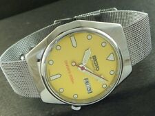 OLD VINTAGE SEIKO 5 AUTOMATIC JAPAN MEN'S DAY/DATE WATCH 443a-a221506-1