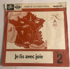 "French In The Primary School : Je Lis Avec Joie  /  7"" (1965) SEG8435  / REF1"
