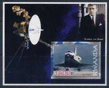 2005 wernher von braun space shuttle S/S satellites