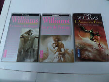 lot 9 livres Pocket Tad Williams l'arcane des épées - la citadelle assiégée...