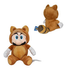 Super Mario Brothers Raccoon 18cm Soft Plush Doll Toy