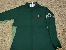 Miami Hurricanes Women's 2XL adidas ClimaLite jacket! New with tags!