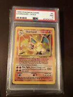 Psa 7 Charizard 1999 Pokemon Base Set 4/102 Holo NM