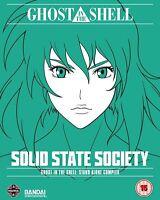 Ghost IN The Shell Sac - Estado Sólido Sociedad Blu-Ray Nuevo (MANGB8808)