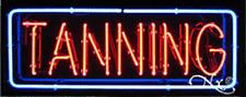 "BRAND NEW ""TANNING"" 32x13 BORDER REAL NEON SIGN w/CUSTOM OPTIONS 10135"