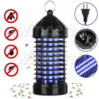 Electric Mosquito Killer Lamp Outdoor/Indoor Fly Bug Insect Zapper Trap Light