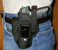 EAA Witness Pistol Holster Belt Holster W Extra Mag Holder 9MM 9 mm  .40 .38 10