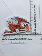 Iron On Patch How To Train Your Dragon Hookfang 8.5cm x 5.5cm Applique B14