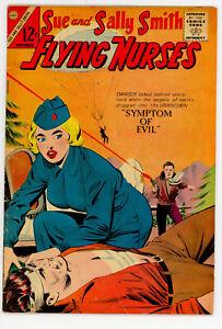 JERRY WEIST ESTATE: SUE & SALLY SMITH FLYING NURSES #54 VG+ & MARINE WAR HEROES