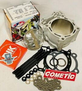 DRZ400 DRZ 400 400SM 95.5 Big Bore Kit Cylinder JE Piston Complete Top End 450cc