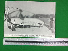 Hafner Gyroplane 1937 (or earlier) publication vintage cutting