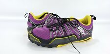 Inov8 Women 9 Men 7.5 Trail Running Shoes TrailRoc 246 Purple Yellow Black
