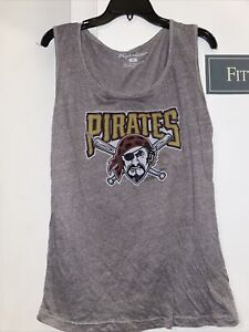 Wright & Ditson Pittsburgh Pirates Baseball Mens Tank Top New Size Medium