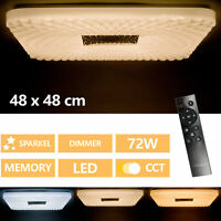 Ultra Delgado Lámpara De Techo LED Regulable Luz Control Remoto