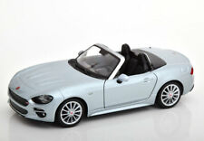 1:24 Bburago Fiat 124 Spider 2016 grey metallic