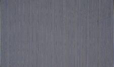 Baumwollstoff Streifen DUNKELBLAU weiß 1 4m breite