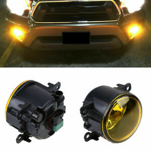 ABESTcar Fog Light Assmbly for Ford Acura Honda Jaguar Lincoln Subaru Suzuki Nissan Fog Lamp Replacement Accessories H11 H8 Halogen Bulbs Adapter Wiring Harness