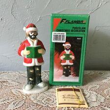 Emmett Kelly Jr. Christmas Ornament Clown W/Box Flambro 9655 Book Vintage