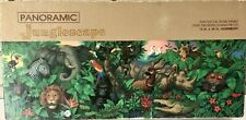 "Springbok Panoramic Junglescape Puzzle Over 700 Pieces Jungle Animals 13""x40"""