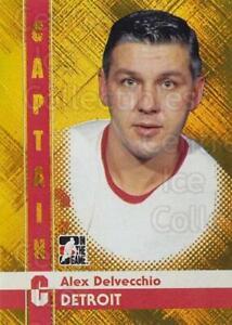 2011-12 ITG Captain C Gold #2 Alex Delvecchio